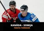 Pasaules čempionāta fināls: Somija - Kanāda 2:3 (spēle galā)