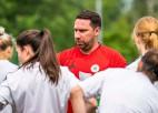 """Sieviešu izlases galvenais treneris: """"Mūsu spēlētājām mačā ar Lietuvu nedega acis"""""""