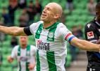 Izcilais Nīderlandes futbolists Robens otro reizi liek punktu karjerai