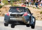 "Svilis ar jauno rallijkrosa ""Renault Clio"" uzvar jau debijā"