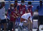 Ribakina sakauj Mugurusu, Badosa kortu pamet ratiņkrēslā