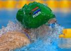 Shūnmākerei pasaules rekords 200m brasā, Makeona triumfē 100m brīvajā stilā