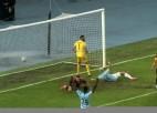 """Video: """"Riga FC"""" atkārtoti uzvar maķedoniešus un iesoļo UEFA Konferences līgas nākamajā kārtā"""