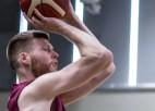 Dāvis Bertāns atgriežas, Latvija pārbaudes spēlē azartiskā cīņā pieveic Slovākiju