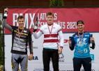 Kārkliņš un Pētersone kļūst par Latvijas BMX elites čempioniem
