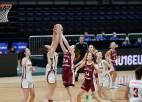 Latvijas U16 meitenes netiek galā ar presingu un zaudē Bulgārijai