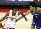 """NBA drafta otrais numurs Grīns: """"Es negribēju nonākt Detroitā"""""""