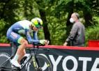 """Igaunis uzvar posmā un kļūst par """"Vuelta a Espana"""" kopvērtējuma līderi"""
