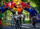 Biķernieku trases velo svētkos veselības, bērnu un sporta braucieni