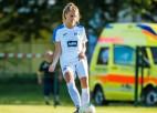 """""""Rīgas Futbola skola"""" piedzīvo zaudējumu arī otrajā UEFA Sieviešu čempionu līgas spēlē"""
