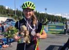 Sanita Buliņa pasaules čempionātā junioriem vasaras biatlonā sprintā izcīna sudrabu