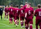 Latvijas U17 izlase oktobra beigās varēs aizvadīt divas Covid-19 pārceltās spēles