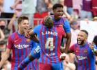 """""""Barcelona"""" supertalants Fati atgriežas ar vārtiem komandas uzvarā pret """"Levante"""""""
