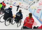 Ar lielisku sniegumu ratiņkērlinga izlase noslēdz turnīru Šveicē 4.vietā