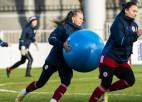 Latvijas sieviešu izlasei priekšā nopietns pārbaudījums – jāuzņem Anglijas futbolistes