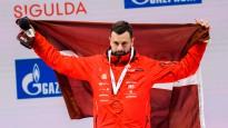 Martins Dukurs pēc uzvaras Siguldā vīlies paša sniegumā