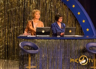 Video: Mirdza Martinsone un Akvelīna Līvmane debitē TV sarunu šova vadīšanā