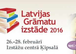 """Video: Ķīpsalas hallē atklāta gadskārtējā """"Latvijas Grāmatu izstāde 2016"""""""