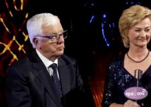 Video: Maestro Raimonds Pauls saņem Dimanta mikrofonu