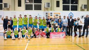 ''Jēkabpils Lūši'' uzvar trijos setos un trešo reizi kļūst par Latvijas čempioniem