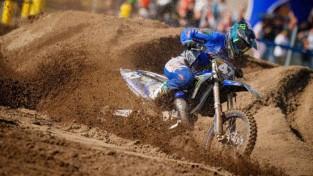 Brāļiem Reišuļiem spožs sniegums Eiropas motokrosa čempionātā