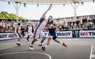 Serbija, Latvija, ASV, Francija un citas valstis cīņā par pirmo OS zeltu 3x3 basketbolā