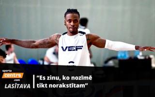 VEF leģionārs Railijs par gaidāmo sezonu, rekordu Lietuvā un grūtībām karjerā