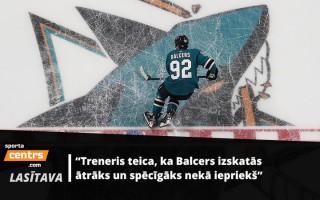 """Balcers gatavojas otrajai sezonai """"Sharks"""" rindās: jauns līgums un vieta otrajā maiņā"""