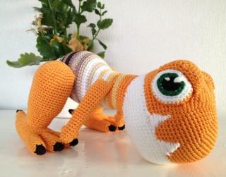 Foto: Idejas taviem rokdarbiem: tamborētas rotaļlietas