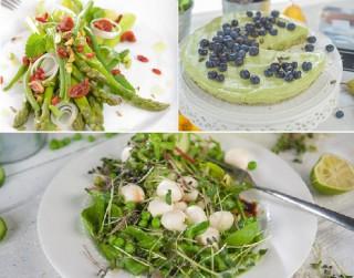 Trīs zaļās možuma un spēka receptes pavasarim