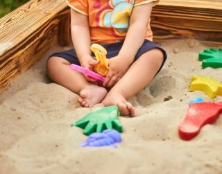 Smilšu kaste – bērna rotaļu un mācību klase