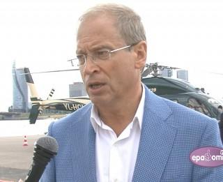 Video: Daugavas krastā atklāts pirmais sertificētais heliports Rīgā