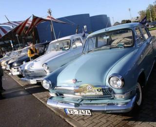 Brīvdienās notiek Latvijas antīko automobiļu kluba Padomju tehnikas sekcijas sezonas noslēguma pasākums