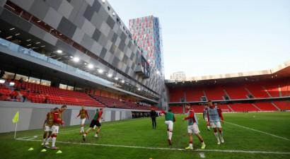 Nāciju līgā izlozēti pusfināli, Albānija uzņems UEFA Konferenču līgas finālu