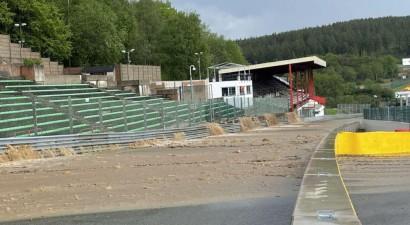Plūdi sabojā leģendāro Spā-Frankošamps trasi