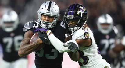 """NFL pirmā nedēļa noslēdzas ar """"Raiders"""" uzvaru pagarinājumā pār Baltimoru"""