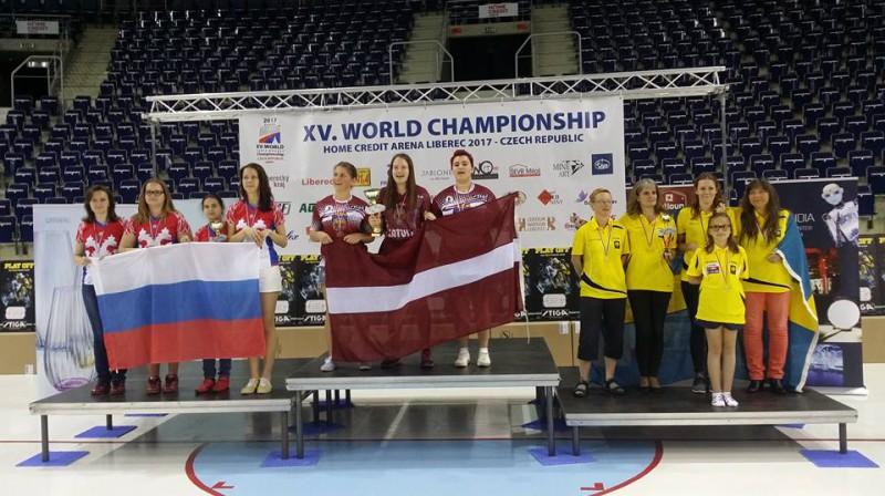 """Liberecas """"Tipsport Arena"""" skan Latvijas himna"""