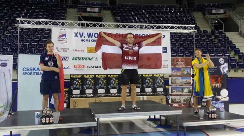 Pasaules čempions - Edgars Caics