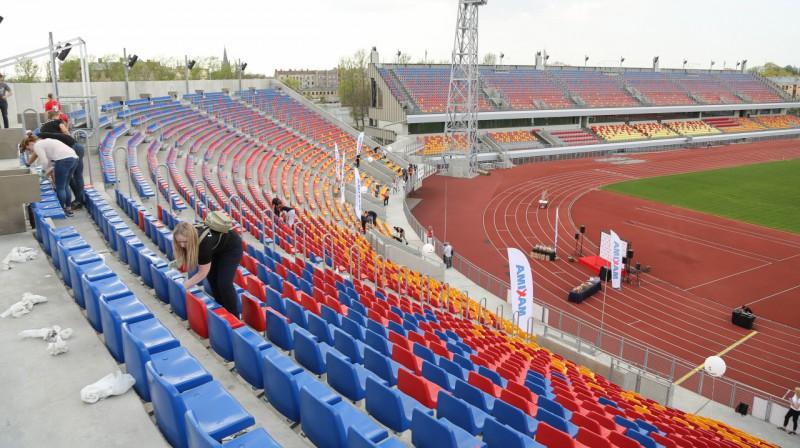 Daugavas stadions. Foto: Dāvis Ūlands, F64