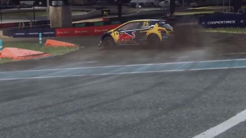 """""""World RX"""" čempions Timijs Hansens finālā guva otro vietu"""