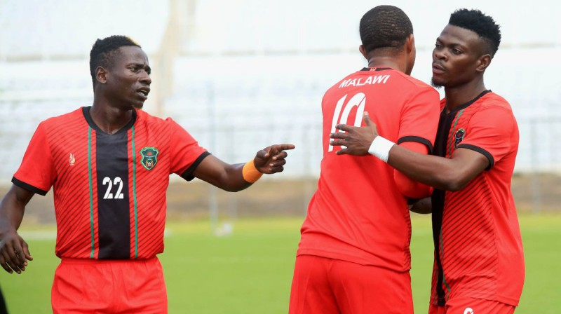 Malavi izlases futbolisti. Foto: Sports Inc/PA Images/Scanpix