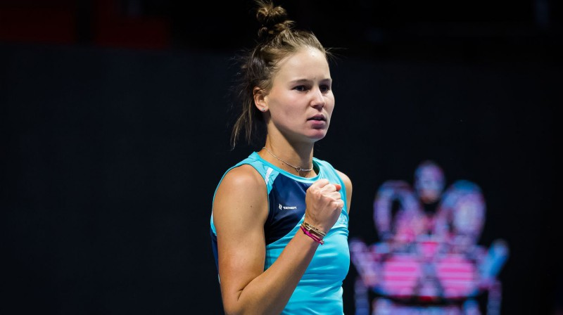 Veronika Kudermetova. Foto: AFP/Scanpix