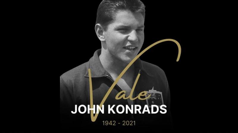 Jānis Konrads. Foto: sahof.org.au