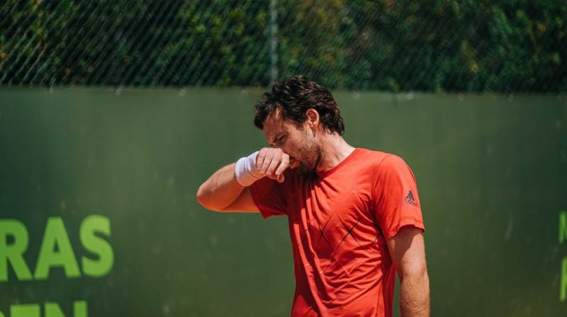 Ernests Gulbis. Foto: Oeiras Open