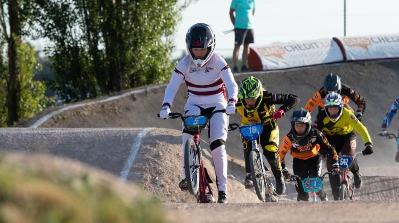 Latvijas čempionāts BMX jau šīs nedēļas sestdienā. Foto: Sanda Balode