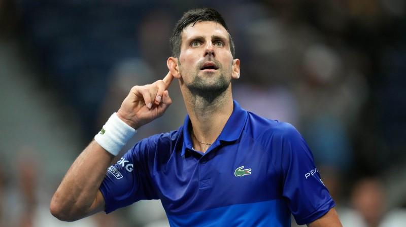 Novaks Džokovičs. Foto: USA Today Sports/Scanpix