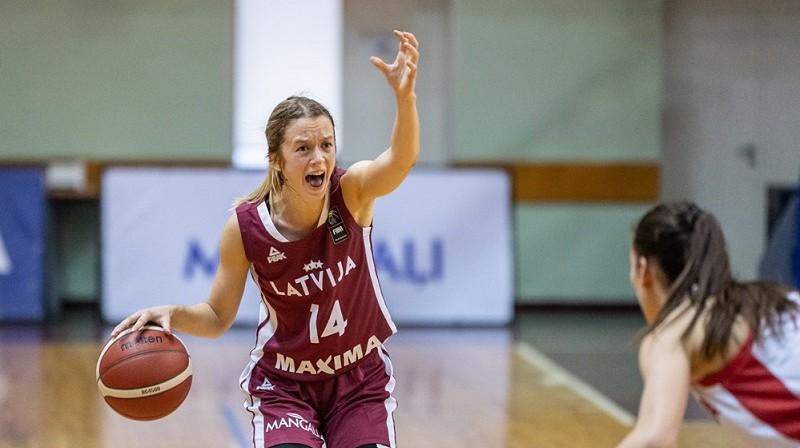 Marta Leimane: 17 punkti uzvarā Šauļos. Foto: FIBA