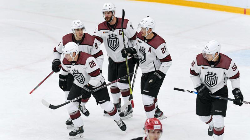 """Rīgas """"Dinamo"""" hokejisti. Foto: Dinamo Rīga"""