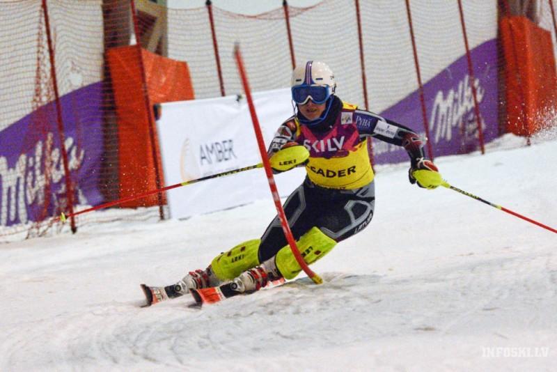 Kalnu slēpotājai E. Gasūnai vēl viena uzvara un labākais rezultāts karjerā