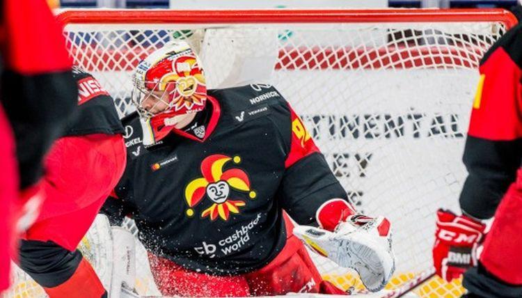 Kārtējais panākums KHL sezonas uzvarām bagātākajam vārtsargam Kalniņam
